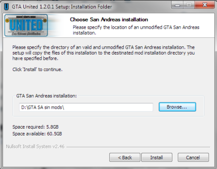 Descargar Mod GTA UNITED 1 2 0 1 para GTA San Andreas – DonNiko